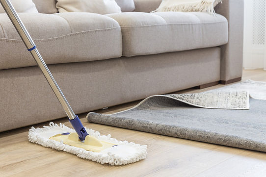 cleaning-floor-with-mop-carpet-living-ro