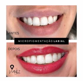 Micropigmentação de lábios