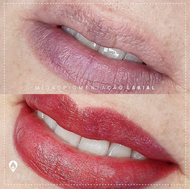 Micropigmentaçãp de lábios