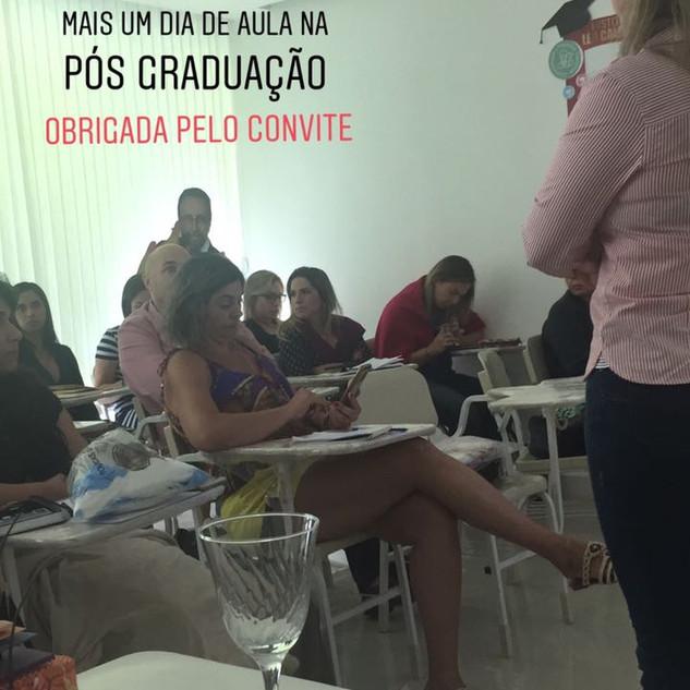 Aula na Pós Graduação