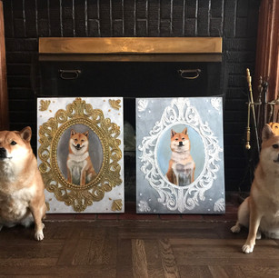 Portrait of Lily and Dora