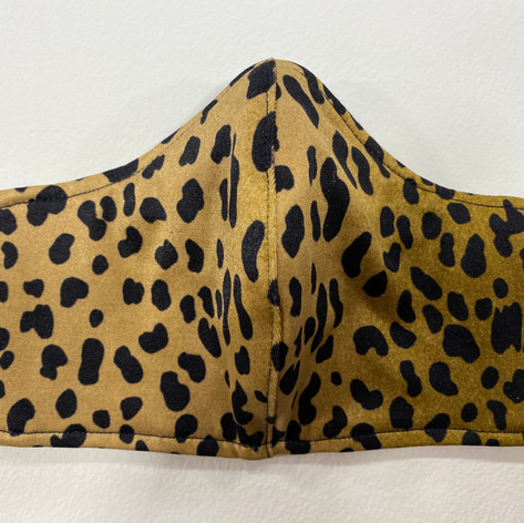 #4 Cheetah fitted mask, spandex