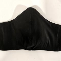 #6, Solid black performance mask