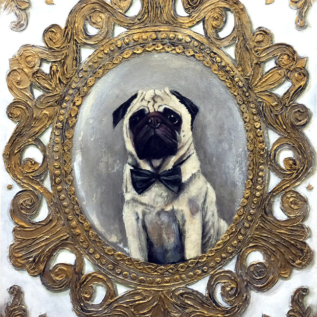 Mr. Royal Tenenbaum the Pug