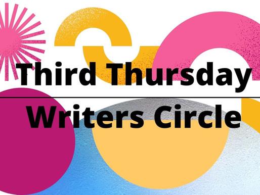 Writers Circle September 16