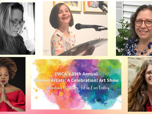 Creative Reading at the YWCA Women Artists Show July 6