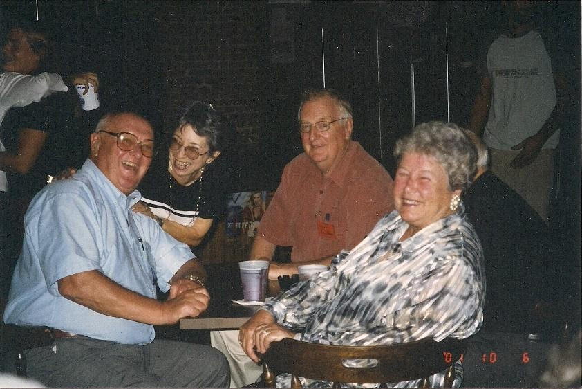 Left to right: Don Parker, Joni Selement, Don Shaw, Andrea Parker at 2001 Festival Event