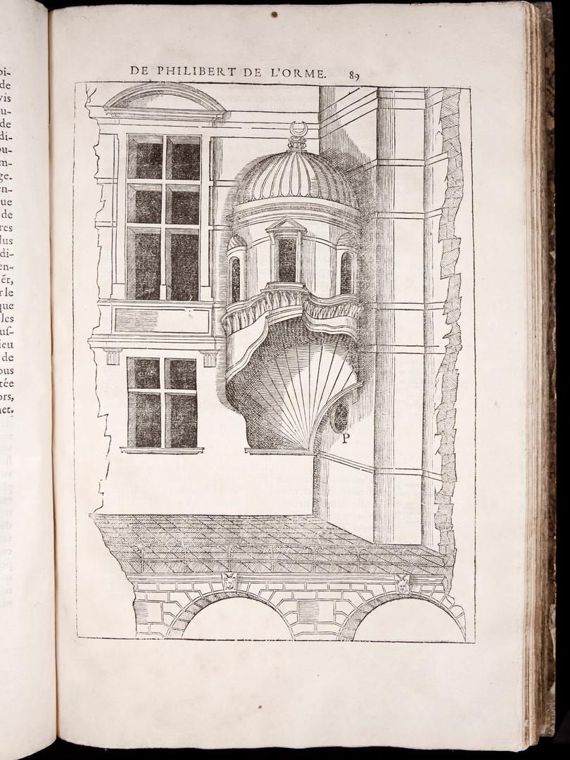 Philibert de L'Orme. Le Premier Tome de l'Architecture