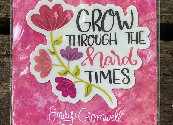Grow Sticker