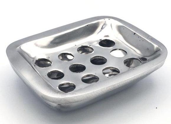 Recycled Aluminum Soap Dish