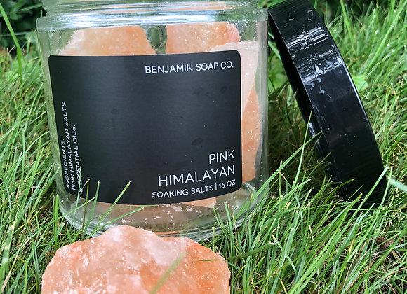 Pink Himalayan Soaking Salts