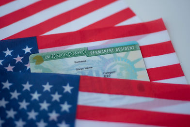 Permanent Resident Green card of United