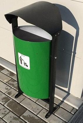 Урна уличная для сбора мусора 30 литров  02.01.016