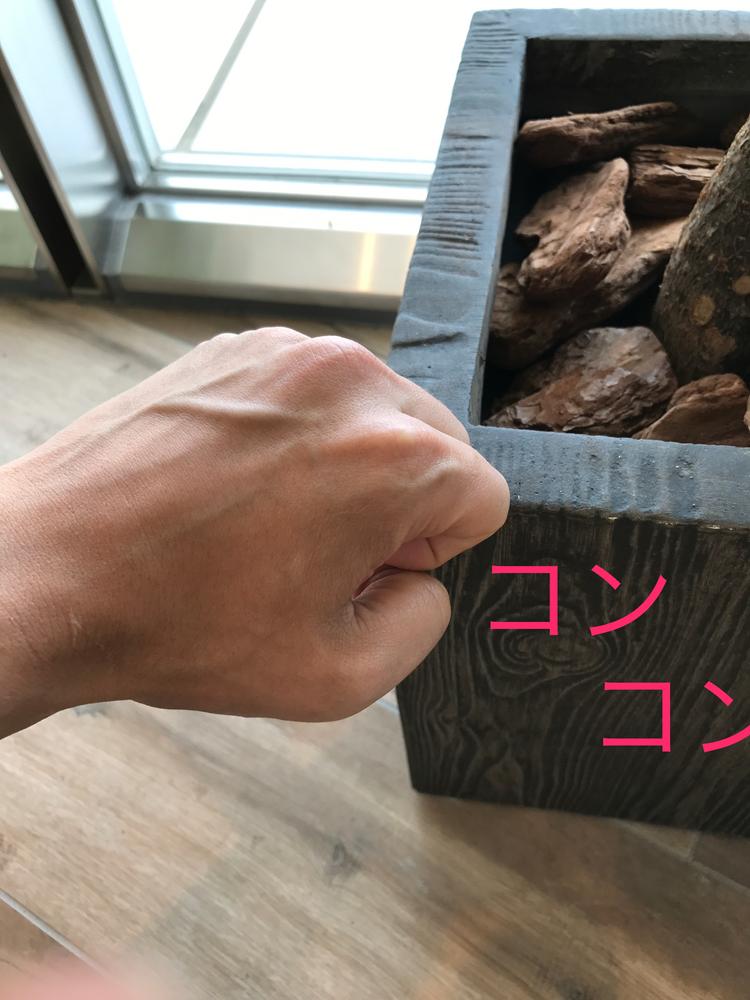 意味 knock on wood