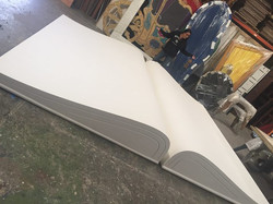 16 ft book