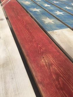 8x8 rustic flag panles