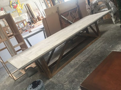 12ft  Farm table