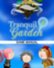 Tranquil Garden Game Manual - Front Cove