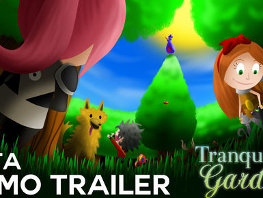 Tranquil Garden Beta Trailer, Game 65% Done, & Another Playcrafting Event!