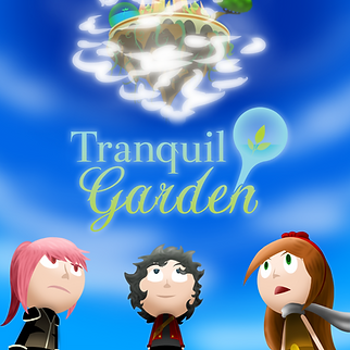 Tranquil Garden Poster (New without Team