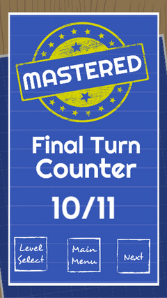 Results Screen - Mastered Victory