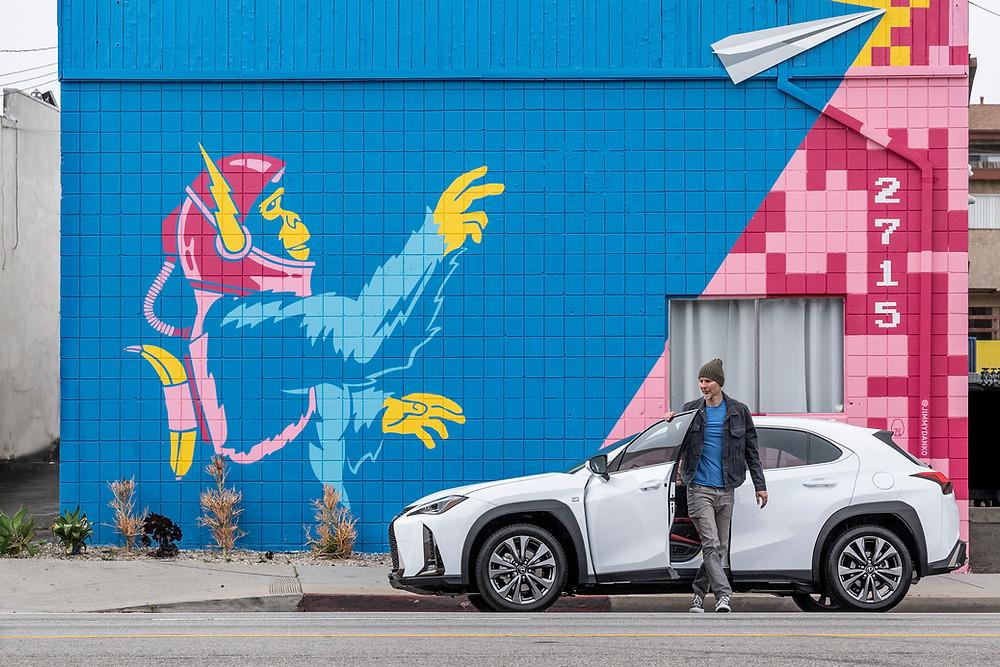 Mural in Los Angeles by Jimmy Danko for Lexus