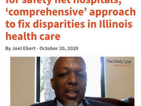 Call for Funding To Fix Disparities In Illinois Healthcare