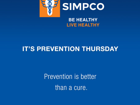 It's Prevention Thursday