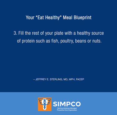 """Your """"Eat Healthy"""" Meal Blueprint"""