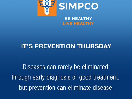 Prevention Thursday's: