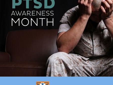 June is PSTD Awareness Month. Let's get aware!