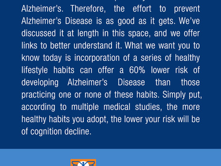 A Challenge to Prevent Alhzeimer's Disease