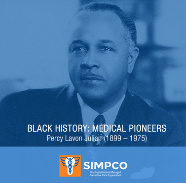 MEDICAL PIONEERS: Percy Lavon Julian