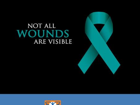June is PSTD Awareness Month.