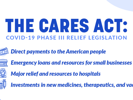Synopsis of the CARES Act: Providing Financial Assistance to Individuals & Businesses