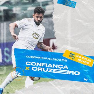 Pré-jogo: Confiança x Cruzeiro