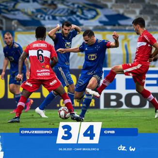 Cruzeiro 3x4 CRB: Derrota preocupante