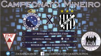 Pré-Jogo: Cruzeiro x Democrata