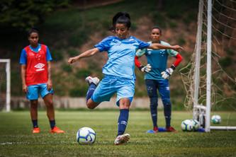 Pré-jogo: Cruzeiro x Ceará - Futebol Feminino