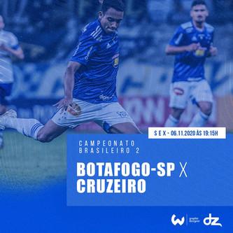 Pré-jogo: Botafogo-SP x Cruzeiro