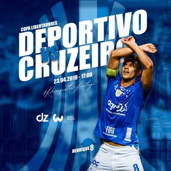 Pré-jogo: Deportivo Lara x Cruzeiro