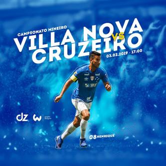 Pré-jogo: Villa Nova x Cruzeiro