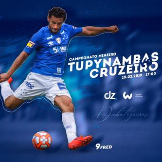 Pré-jogo: Cruzeiro x Tupynambás