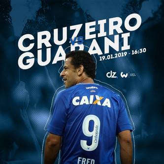 Pré-jogo: Guarani x Cruzeiro