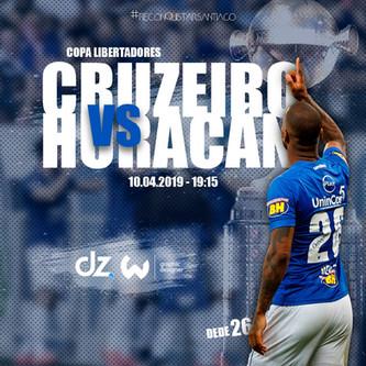 Pré-jogo: Cruzeiro x Huracán
