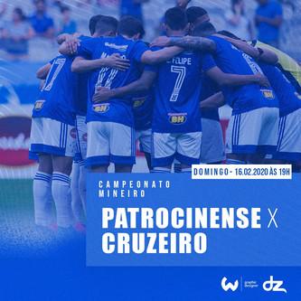 Pré-jogo: Patrocinense x Cruzeiro