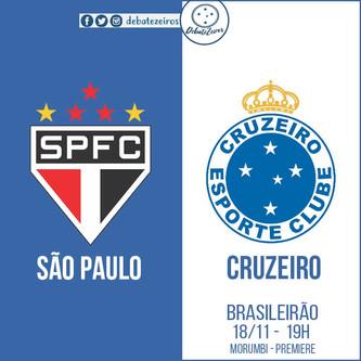Pré-jogo: São Paulo x Cruzeiro