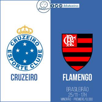 Pré-jogo: Cruzeiro x Flamengo