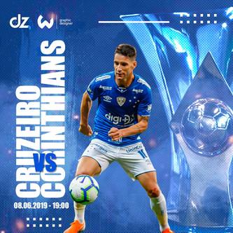 Pré-jogo: Cruzeiro x Corinthians
