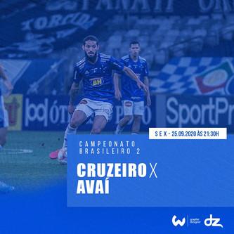Pré-jogo: Cruzeiro x Avaí